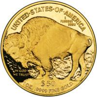 Zlatá mince American Buffalo , známá také jako Gold Buffalo , je ...